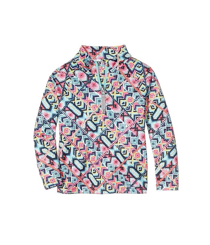 Neck (Toddler/Little Kids) (Friends Forever Print) Girl's Clothing
