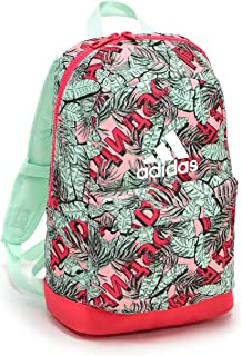 adidas Unisex Classic Graphics Backpack, Dash Green/Core Pink/White