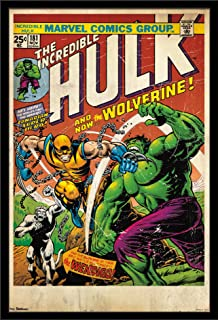 Trends International 24x36 Marvel Comics - Wolverine - Cover Wall Poster, 24