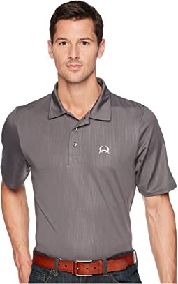 Athletic Embossed Tech Polo