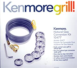 Kenmore Natural Gas Conversion Kit 10477 Converts Grill to Natural Gas