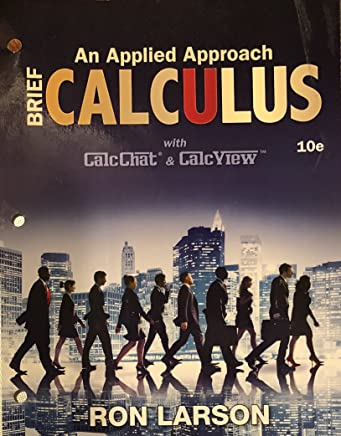 Calculus: An Applied Approach, Brief, Loose-Leaf Version