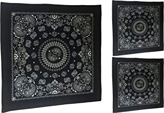 GIRRIJA Unisex Cotton Fashion Bandanas (Multicolours, Free Size) - Pack of 12 Pieces