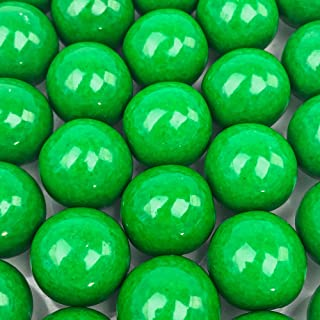 Green Gumballs - 2 Pound Bags - Large - One Inch in Diameter - About 120 Gumballs Per Bag - Free