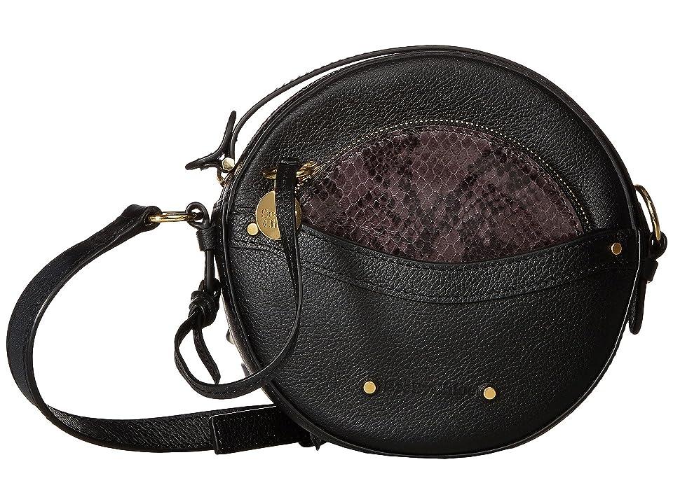 See by Chloe Rosie Mini Crossbody (Black) Cross Body Handbags