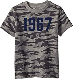 Camo Cotton Jersey T-Shirt (Little Kids/Big Kids)