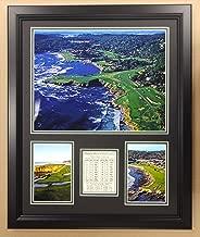 Pebble Beach Golf Course - Framed 18