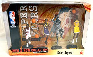 Mattel NBA Super Stars Then & Now Collection 4-Figure Box Set - Kobe Bryant - Los Angeles Lakers