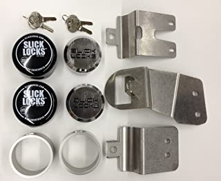 $224 » Slick Locks 4336324178 Nissan Nv Kit Complete with Spinners, Weather Covers & Locks