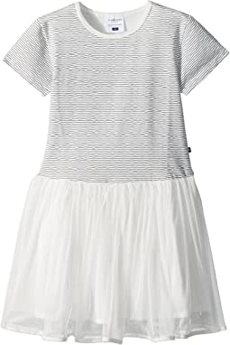 Toobydoo Sweet Stripe Tulle Dress (Toddler/Little Kids/Big Kids)