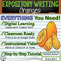 Text Dependent Analysis Argumentative Writing for Oranges by Gary Soto Distance Learning, In Class, Remote Learning,...
