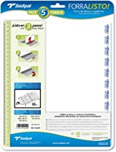 Sadipal 942421 - Blíster 5 forros, 29 x 55 cm
