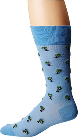 Mercerized Palm Trees Socks