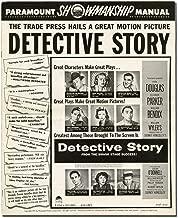 Detective Story (Original Film Pressbook)