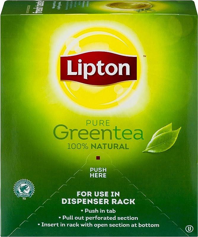 Lipton Green Tea 100 Percent Natural 100 Ct