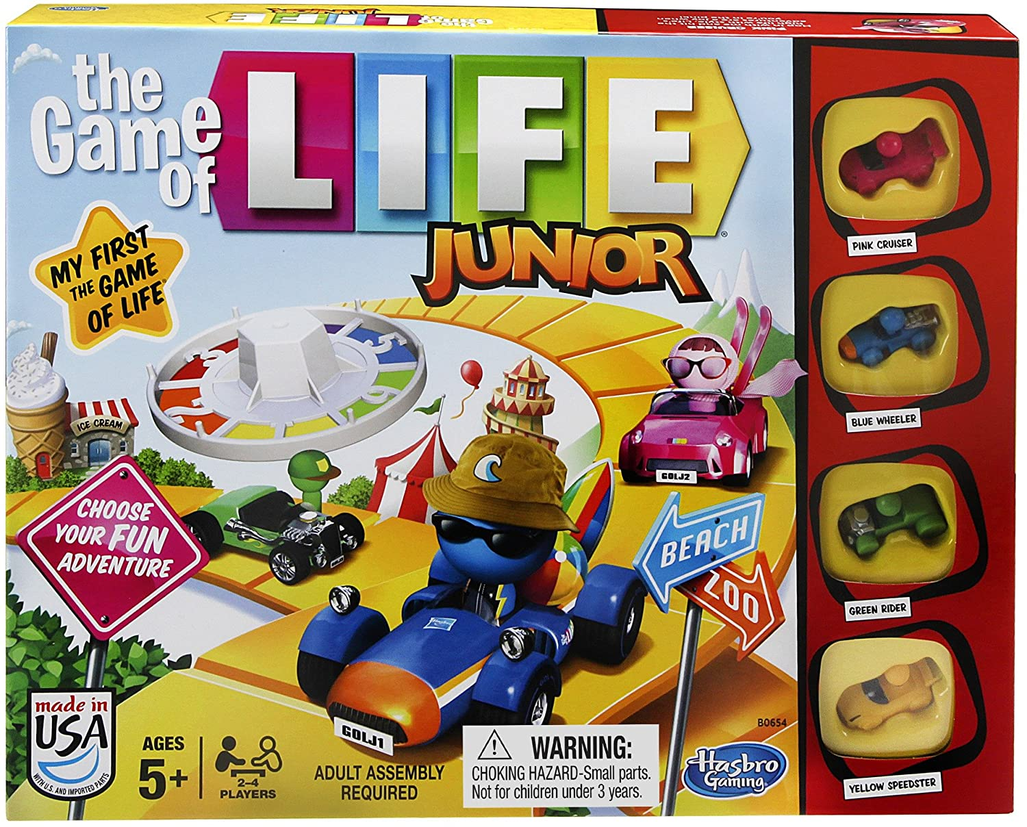 Hasbro Gaming The Game of Low price We OFFer at cheap prices Life Junior
