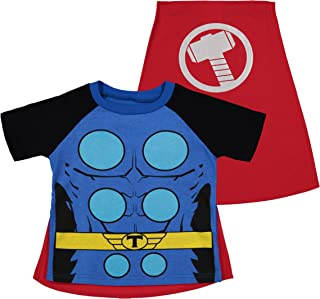 Avengers Thor Boys' Costume Shirt with Cape