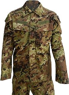 463dcb89e70c6b ALGI Completo Tuta Militare da Combattimento Ripstop di Polyfilo Vegetato  Mimetico