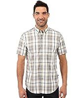 Nautica - Short Sleeve Large Plaid Shirt w/ Pocket
