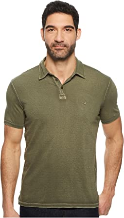 John Varvatos Star U.S.A. - Pigment Rub Peace Polo K1381U1B