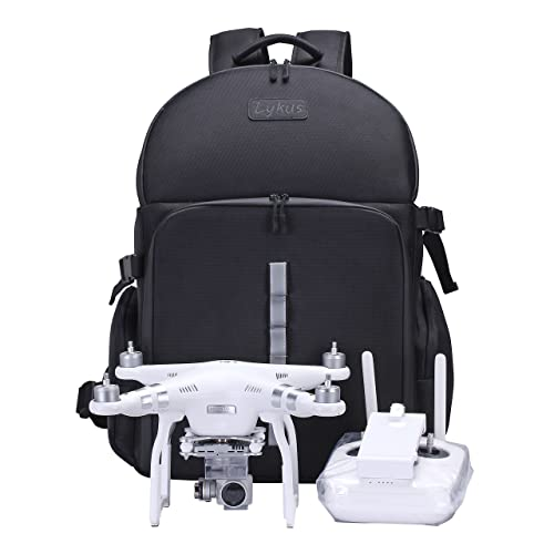 Lykus Water Resistant Travel Backpack for DJI Phantom 4 4 Pro 9bc79bc6aaf