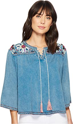 Double D Ranchwear - Rhythm & Blues Top