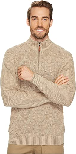 Tommy Bahama - 1/2 Zip Desert Diamond