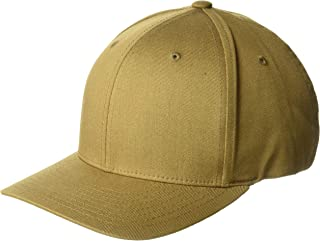 Flexfit Men`s Athletic Baseball Fitted Cap, Coyote Brown, XXL