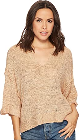 Knit Top w/ Steep Front