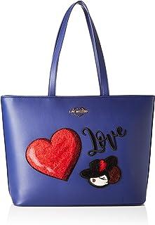 Love Moschino Tote Bag, Nero