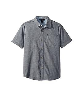 Everett Oxford Short Sleeve Shirt (Big Kids)