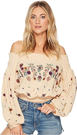 Free People - Saachi Smocked Top