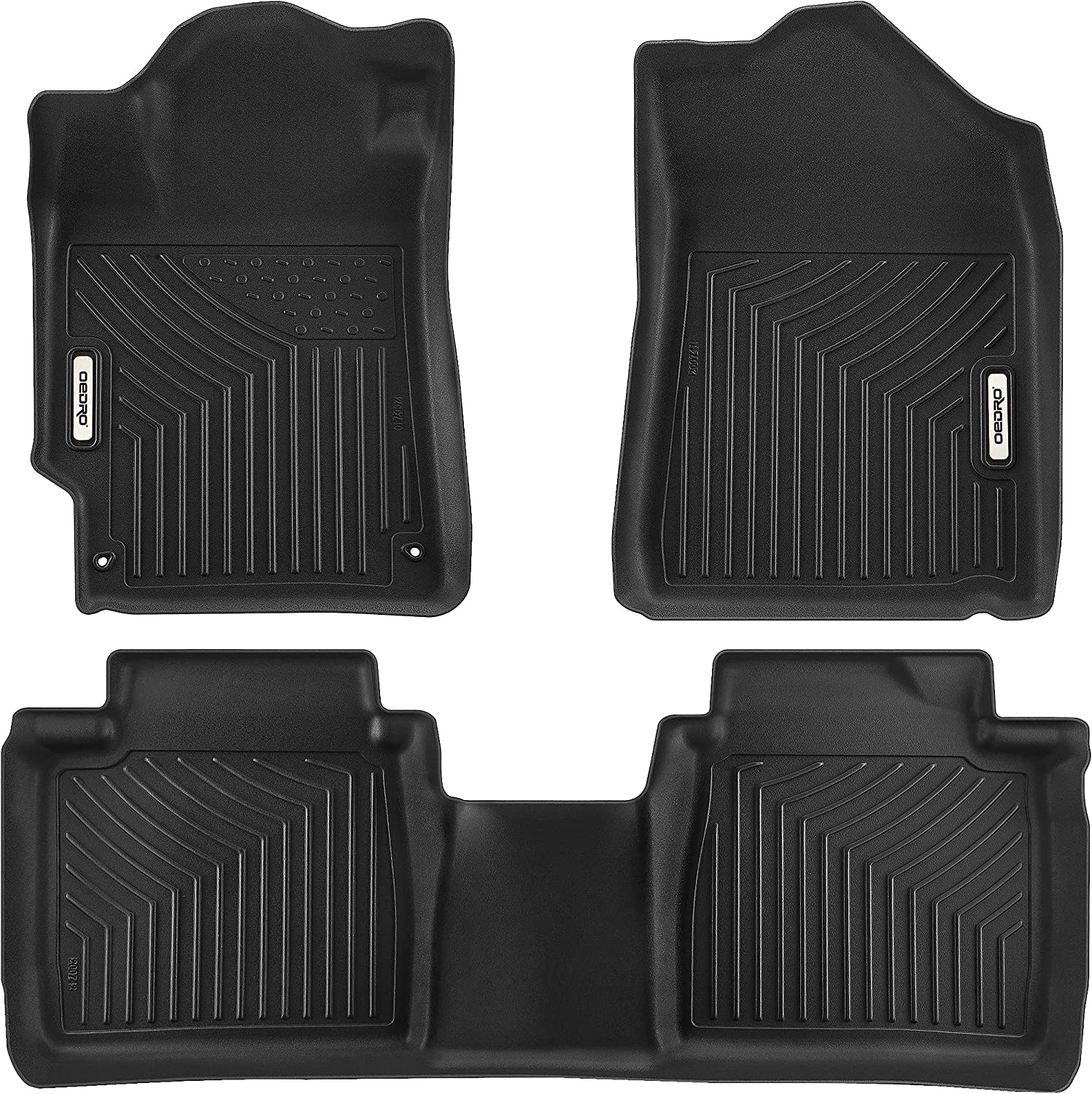 OEDRO Inexpensive Floor Mats Compatible Super special price with Custom 2007-2011 Toyota Camry