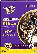 Yogabar Dark Chocolate Premium Super Rolled Oats- 400gm
