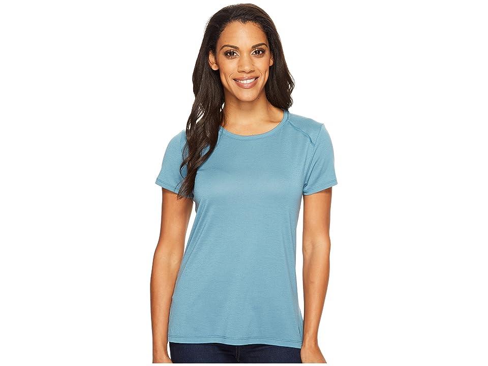 Mountain Hardwear Coolhiker AC Short Sleeve Shirt (Cloudburst) Women