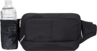Anti-Theft Waist Pack, Black, One Size