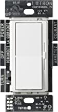 Lutron Diva LED+ Dimmer for Dimmable LED, Halogen and Incandescent Bulbs | Single-Pole or 3-Way | DVCL-153P-WH | White