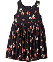Dolce & Gabbana Kids - Back To School Floral Dress (Toddler/Little Kids)
