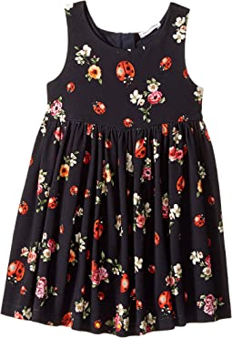 Back To School Floral Dress (Toddler/Little Kids)