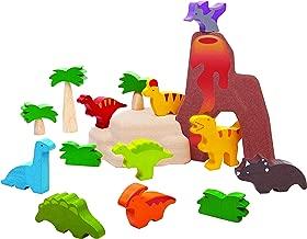 PlanToys 6621 Dinosaurs Set Toy Figure
