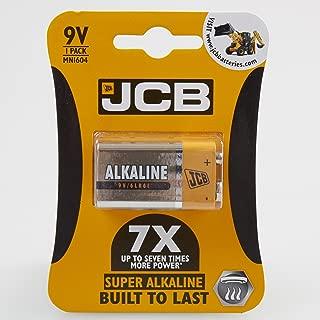 JCB, Type 9V (PP3) Super Alkaline Battery (Pack of 1)