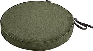 Classic Accessories Montlake Round Cushion Foam & Slip Cover, Heather Fern, 15