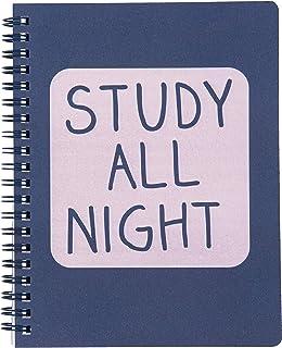 ANTECKNINGSBLOCK STUDY ALL NIGHT A5 FSC