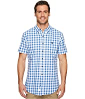 U.S. POLO ASSN. - Short Sleeve Classic Fit Plaid Shirt