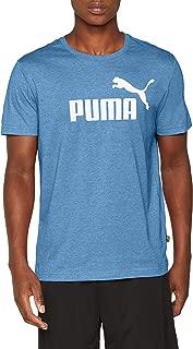 PUMA Men's ESS+ HEATHER TEE, High Risk