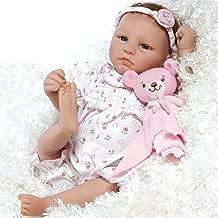 Paradise Galleries Lifelike & Realistic Newborn Reborn Baby Doll, Bundle of Joy, 18-inch Weighted Baby in GentleTouch Vinyl, 5-Piece Set