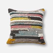 Loloi P0094 Wool, Cotton & Chindi Pillow Cover