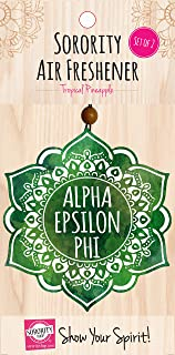 Alpha Epsilon Phi - Mandala Air Freshener - 2/Pack