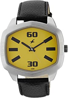 Fastrack Analog Yellow Dial Men's Watch - 3119SL02 [Watch]