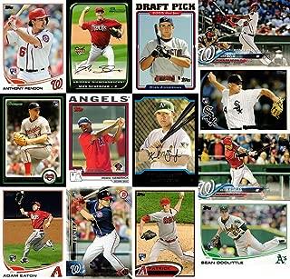 2019 Washington Nationals Rookie Card Team Set of 13 Baseball Cards: 2018 Topps Juan Soto, 2008 Bowman Max Scherzer, 2010 Bowman Stephen Strasburg, 2013 Topps Update Anthony Rendon, and more!